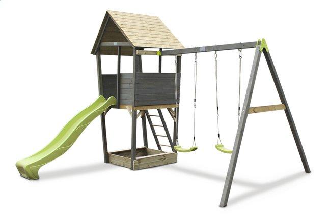 Image pour EXIT portique en bois avec toboggan vert à partir de DreamLand