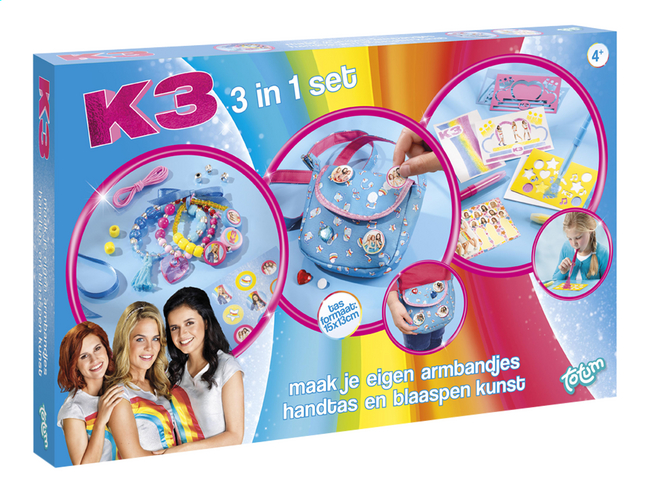 Afbeelding van Totum K3 Knutselset 3-in-1 from DreamLand
