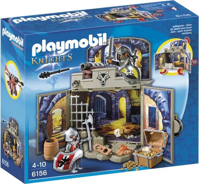 Image pour Playmobil Knights 6156 Coffre Pièce du trésor des chevaliers à partir de DreamLand