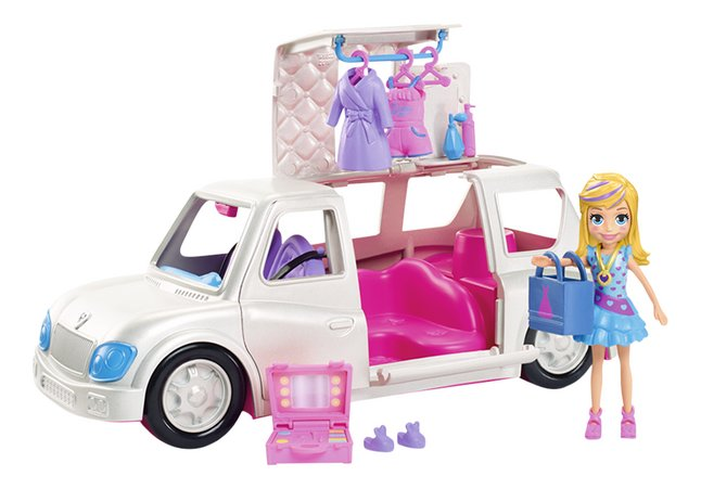 Afbeelding van Polly Pocket speelset Luxe limo from DreamLand
