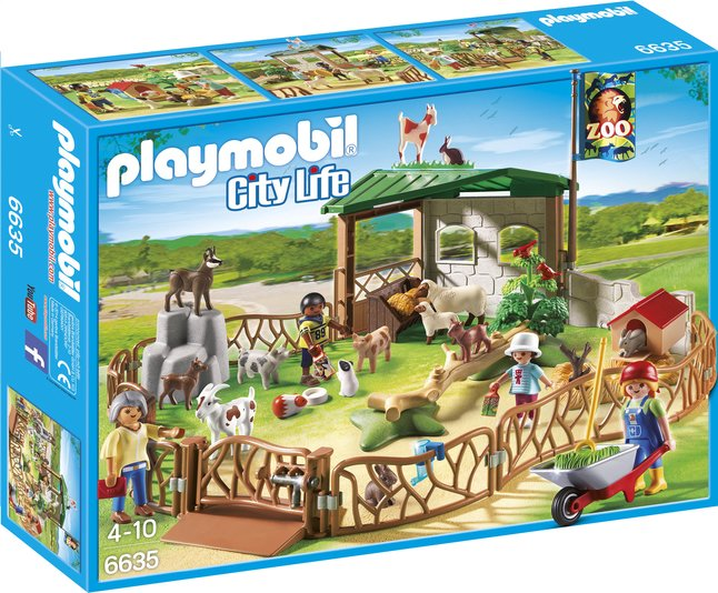 e fr dl playmobil city life  grand zoo