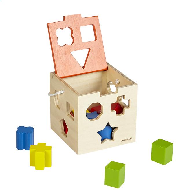 Image pour DreamLand trieur de formes Cube en bois à partir de DreamLand