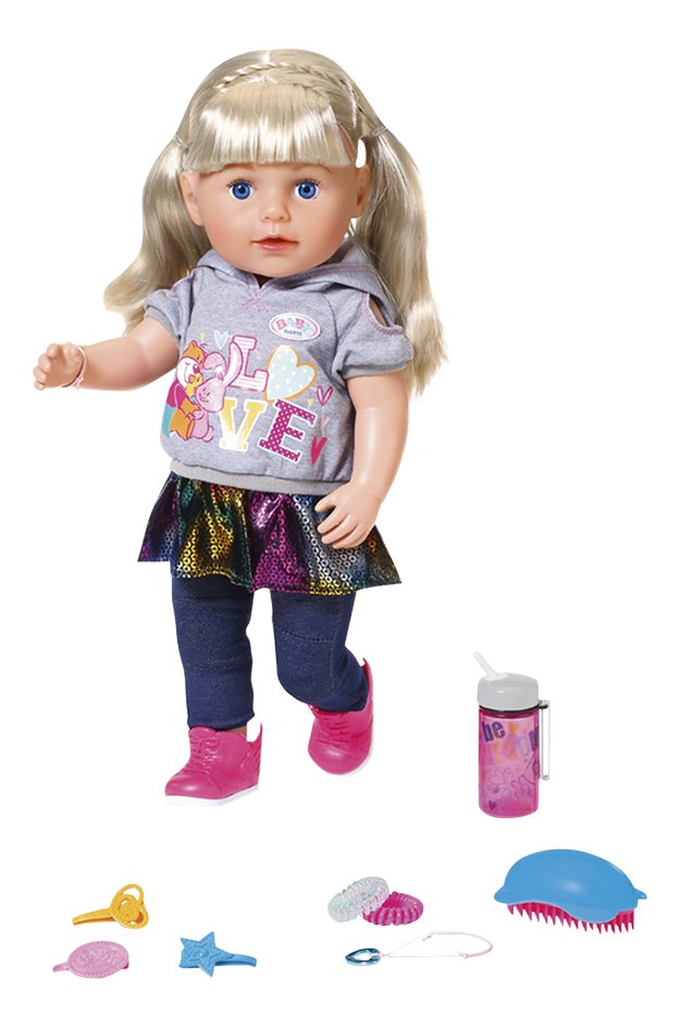 BABY born pop Soft Touch Sister blond