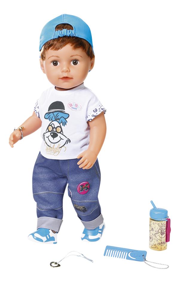 BABY born poupée Soft Touch Brother 43 cm