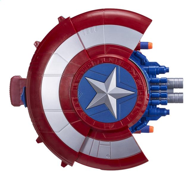 Afbeelding van Nerf Captain America: Civil War blaster reveal schild from DreamLand