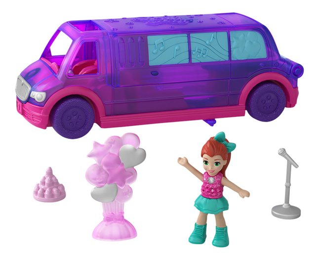 Afbeelding van Polly Pocket micro Pollyville Party Limo from DreamLand