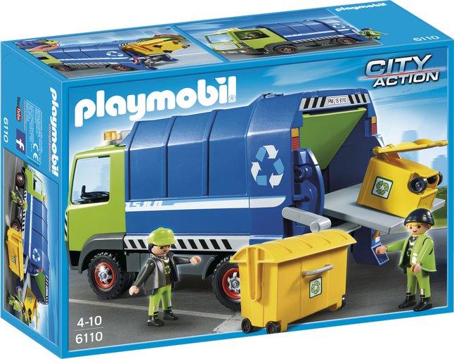 Afbeelding van Playmobil City Action 6110 Vuilniswagen from DreamLand