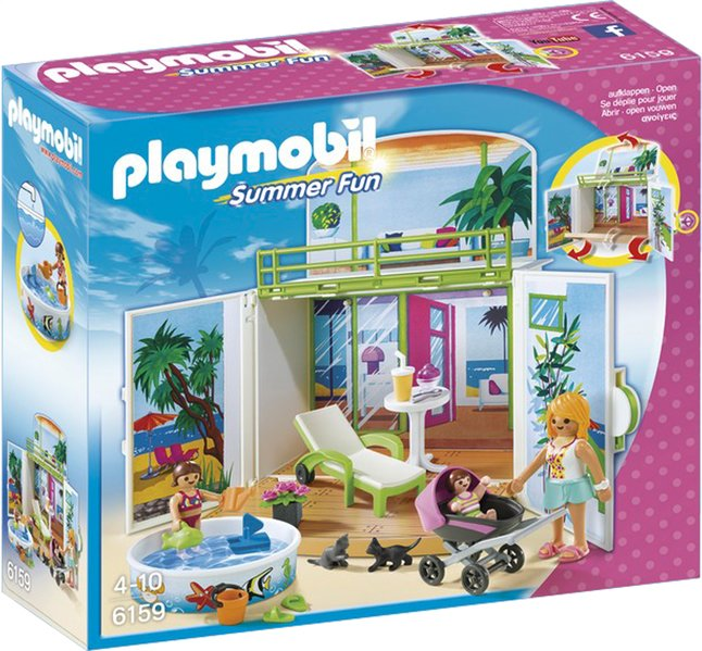 Image pour Playmobil Summer Fun 6159 Coffre Terrasse de vacances à partir de DreamLand