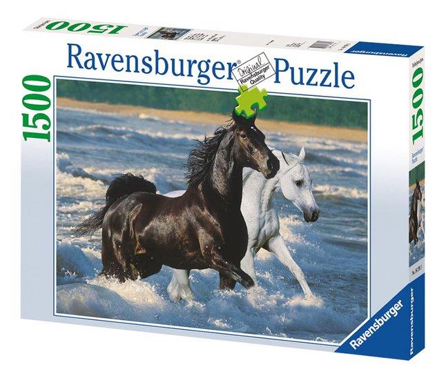Afbeelding van Ravensburger puzzel Paarden op het strand from DreamLand