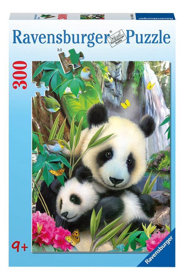 Afbeelding van Ravensburger puzzel Lieve panda from DreamLand