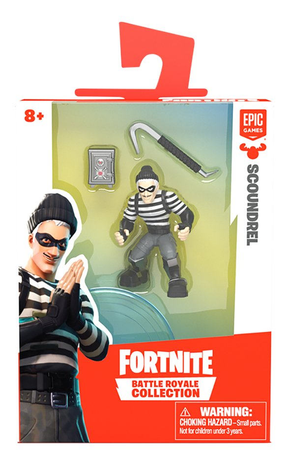 Figuur Fortnite Battle Royale Collection Scoundrel