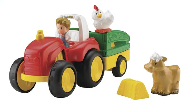 Afbeelding van Fisher-Price Little People tractor Tow 'n Pull from DreamLand