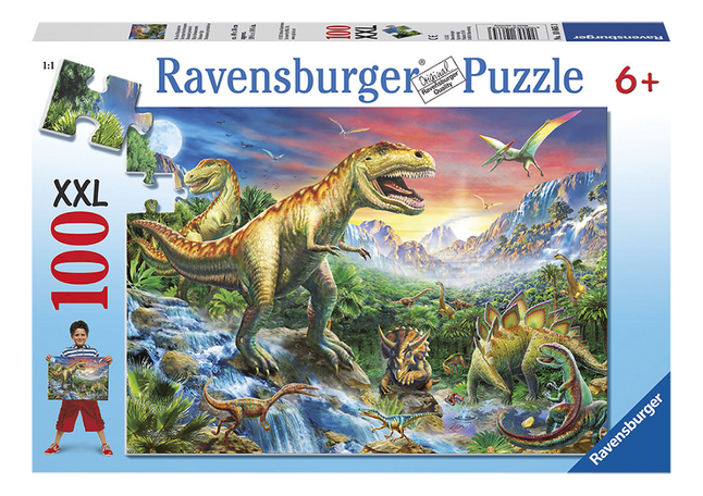 Image pour Ravensburger puzzle XXL Dinosaures à partir de DreamLand