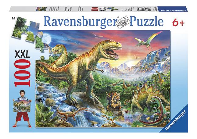 Afbeelding van Ravensburger XXL puzzel Dinosaurussen from DreamLand