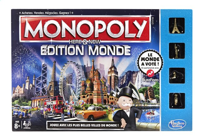 Afbeelding van Monopoly Édition Monde FR from DreamLand