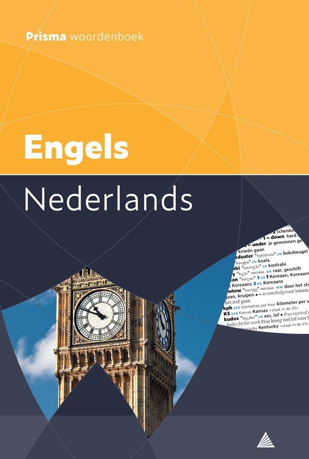 Prisma pocketwoordenboek Engels-Nederlands