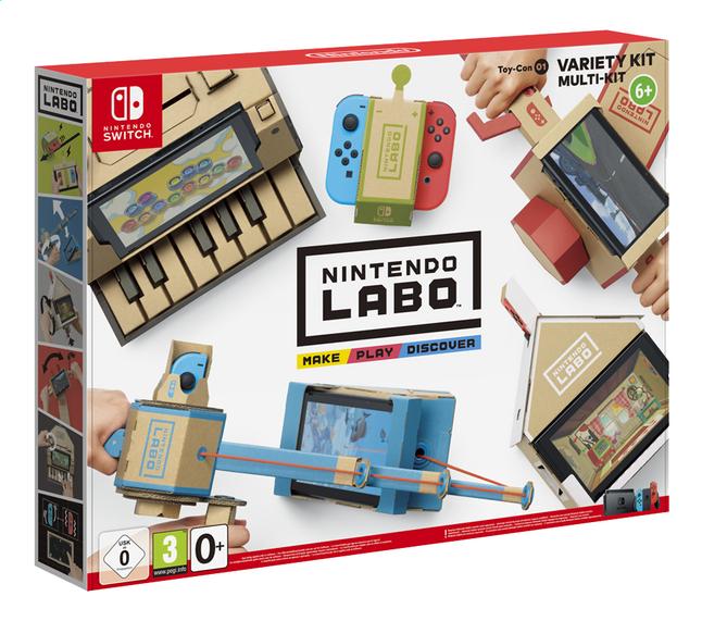 Afbeelding van Switch Nintendo Labo Variety Kit from DreamLand