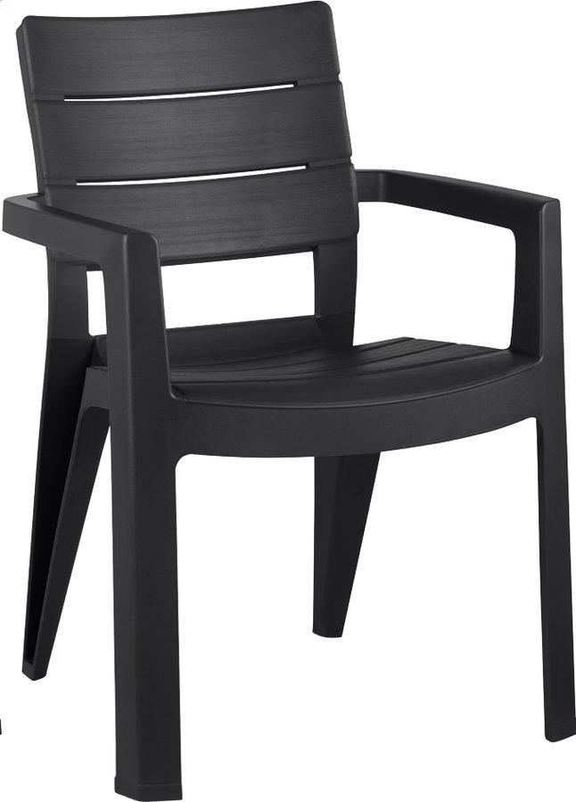 Keter Allibert chaise de jardin Ibiza gris graphite