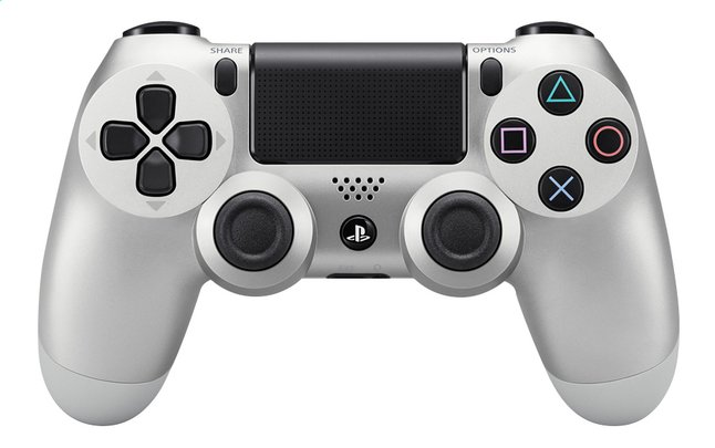 Afbeelding van PS4 wireless controller Silver from DreamLand