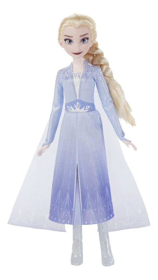 Poupée mannequin  Disney La Reine des Neiges II Elsa chante