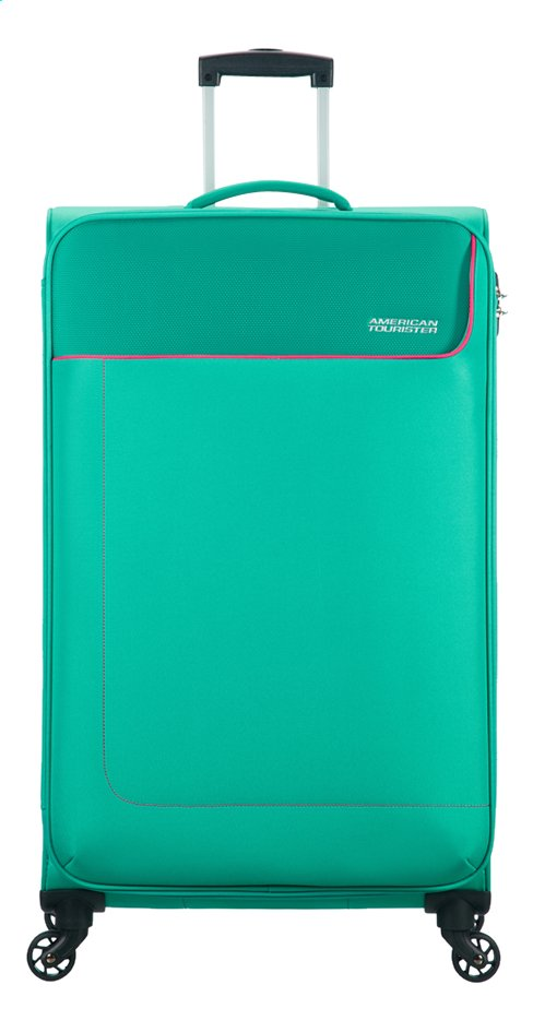Afbeelding van American Tourister zachte reistrolley Funshine Spinner Aqua Green from DreamLand