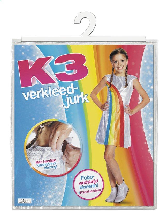 Afbeelding van Verkleedpak K3 regenboogkleedje maat 134 from DreamLand