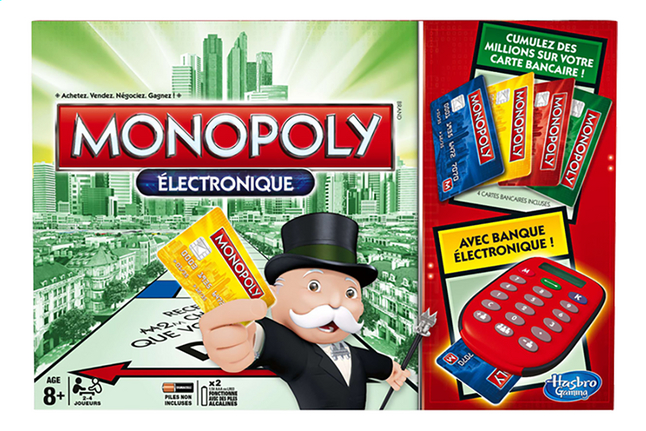 Afbeelding van Monopoly électronique FR from DreamLand