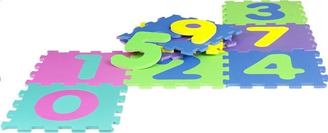 Afbeelding van DreamLand 10 puzzeltegels cijfers from DreamLand