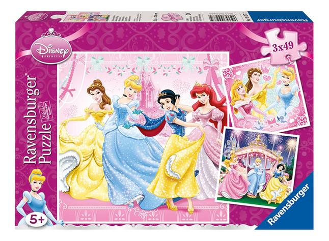 Image pour Ravensburger 3 en 1 puzzle Disney Princess à partir de DreamLand