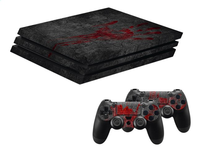 Afbeelding van Hama PS4 Pro console skin + 2 controllers skins Undead from DreamLand