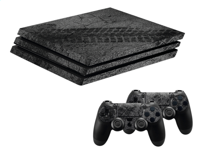 Hama PS4 Pro console skin + 2 controllers skins Racing