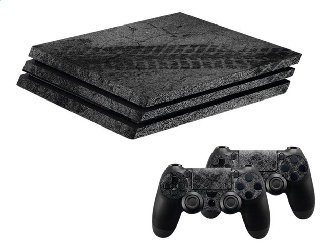 Afbeelding van Hama PS4 Pro console skin + 2 controllers skins Racing from DreamLand