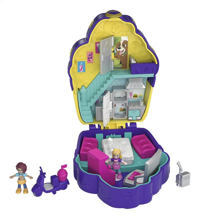 Polly Pocket speelset World Cupcake Compact