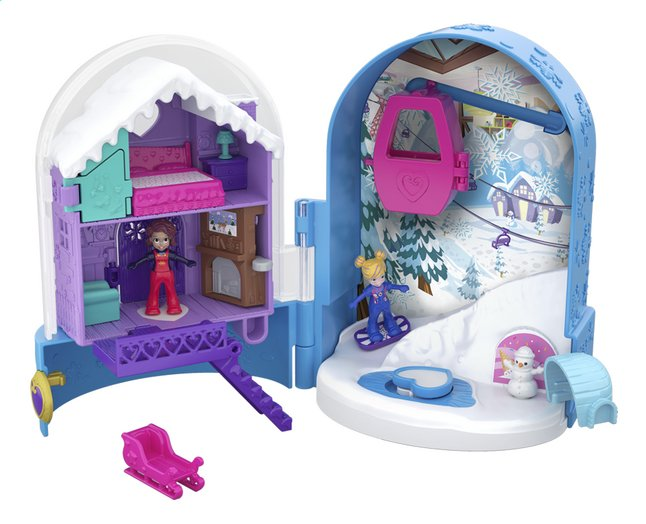Afbeelding van Polly Pocket speelset World Sneeuwbol Compact from DreamLand