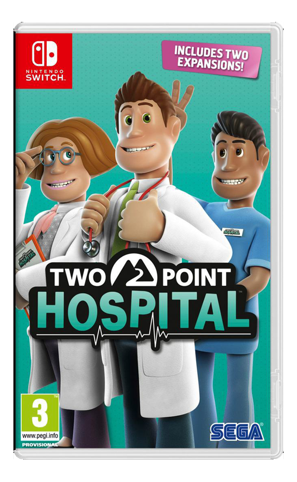 Nintendo Switch Two Point Hospital ANG/FR