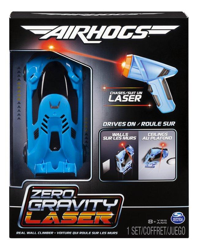 Air Hogs voiture RC Zero Gravity Laser bleu