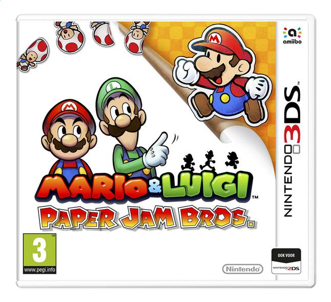 Image pour Nintendo 3DS Mario & Luigi: Paper Jam Bros. NL à partir de DreamLand