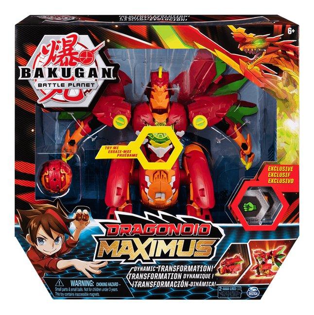 Bakugan Dragonoid Maximus Dynamic Transformation!