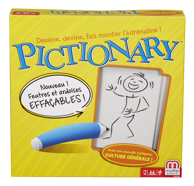 Afbeelding van Pictionary FR from DreamLand