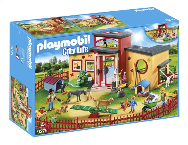Afbeelding van PLAYMOBIL City Life 9275 Dierenpension from DreamLand