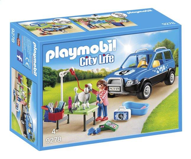 Image pour PLAYMOBIL City Life 9278 Toiletteuse avec véhicule à partir de DreamLand