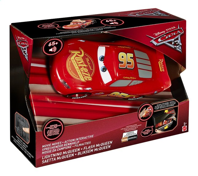voiture disney cars 3 flash mcqueen dreamland. Black Bedroom Furniture Sets. Home Design Ideas