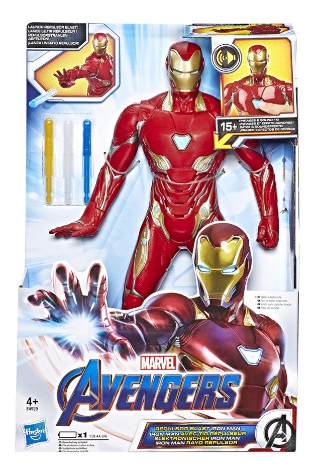 Afbeelding van Hasbro actiefiguur Avengers Repulsor Blast Iron Man from DreamLand