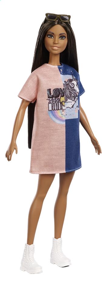 Image pour Barbie poupée mannequin  Fashionistas Petite 103 - Tone Graphic Dress à partir de DreamLand