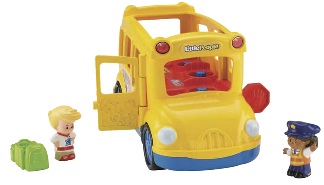 Afbeelding van Fisher-Price Little People schoolbus Lil'Movers from DreamLand
