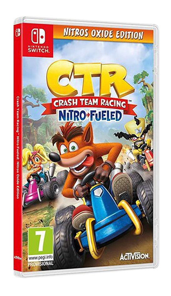 Afbeelding van Nintendo Switch Crash Team Racing Nitro-Fueled - Nitros Oxide Edition ENG from DreamLand