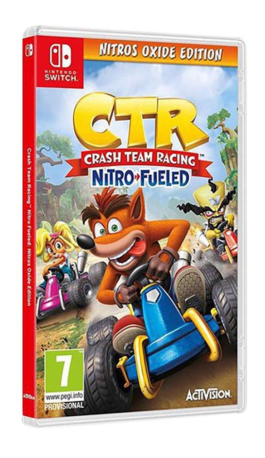 Nintendo Switch Crash Team Racing Nitro Fueled - Nitros Oxide Edition FR