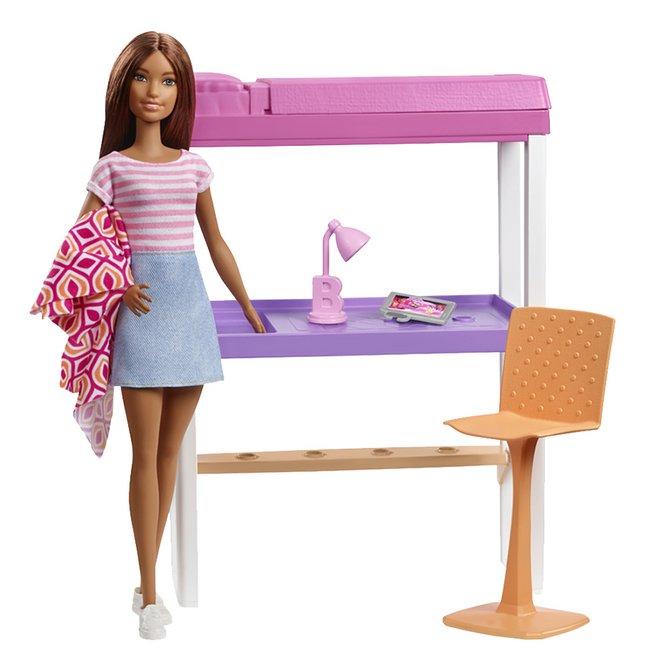 Afbeelding van Barbie speelset Studentenkamer from DreamLand