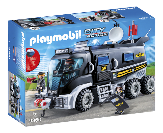 Playmobil city action sie truck dreamland