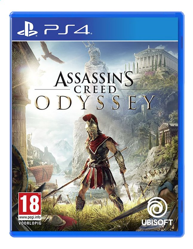 PS4 Assassin's Creed Odyssey ENG/FR